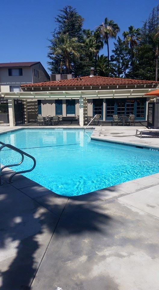 1 of the 3 redone pools yelp for Leslie pool garden grove