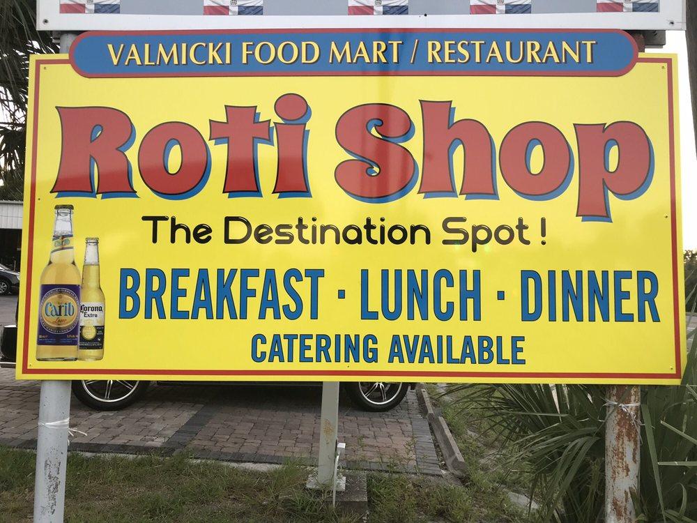 Valmicki Market Restaurant and Roti Shop: 1200 West Sr 436, Altamonte Springs, FL