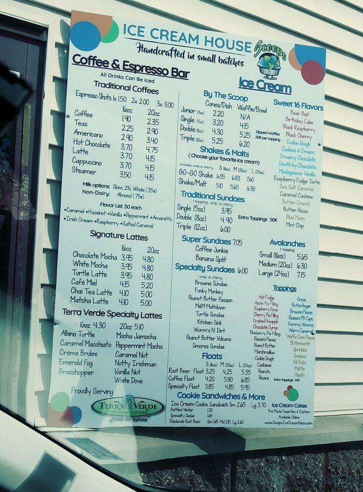 Scoops Ice Cream House: 131 E Chestnut St, Chilton, WI