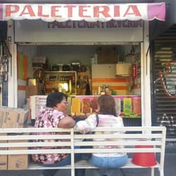 Paleteria Y Neveria Culhuacan Ice Cream Frozen Yogurt Rosa