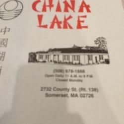 Photo Of China Lake Restaurant Somerset Ma United States