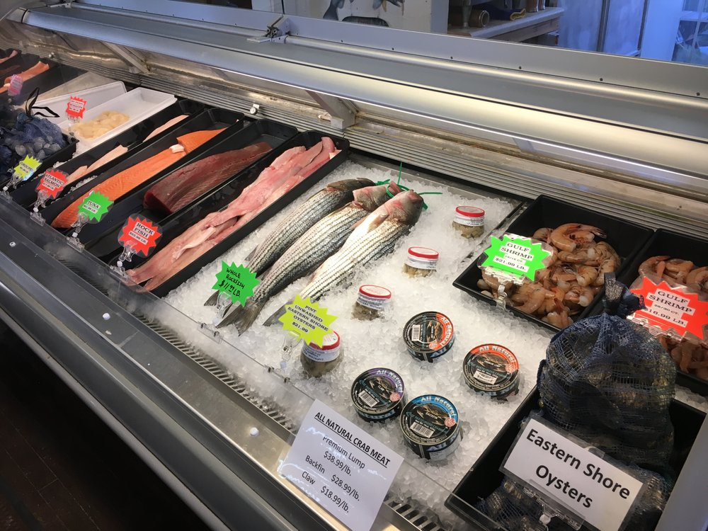 Photos for welton 39 s fresh seafood market yelp for Fish market virginia beach