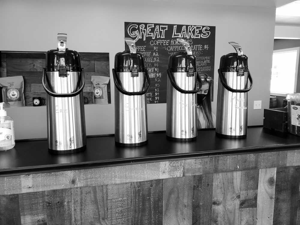 Great Lakes Coffee Roasters: 123 Stutzman Rd, Bowmansville, NY