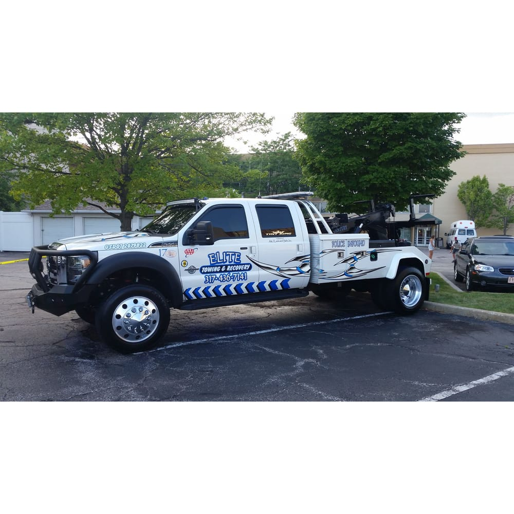 Elite Towing & Recovery: 7831 Baltimore Rd, Monrovia, IN