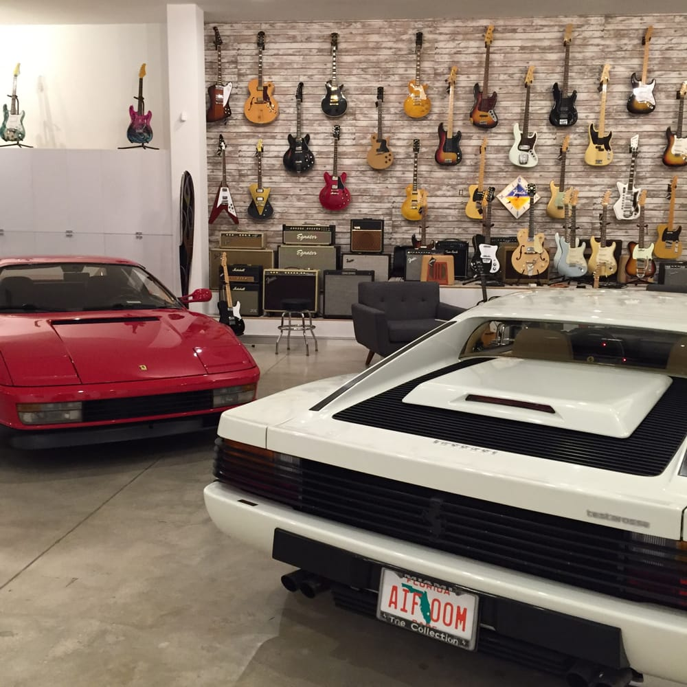 ORIGINAL Miami Vice Testarossa And LOTS Of Cool Vintage