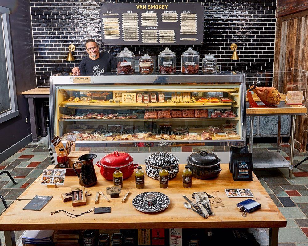 Van Smokey Smokehouse and Meat Shop: 87 Debruce Rd, Livingston Manor, NY
