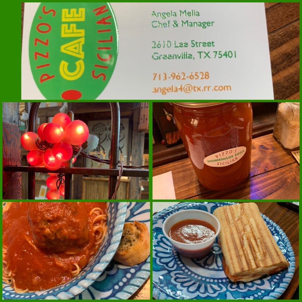 Pizzo's Sicilian Café: 2610 Lee St, Greenville, TX