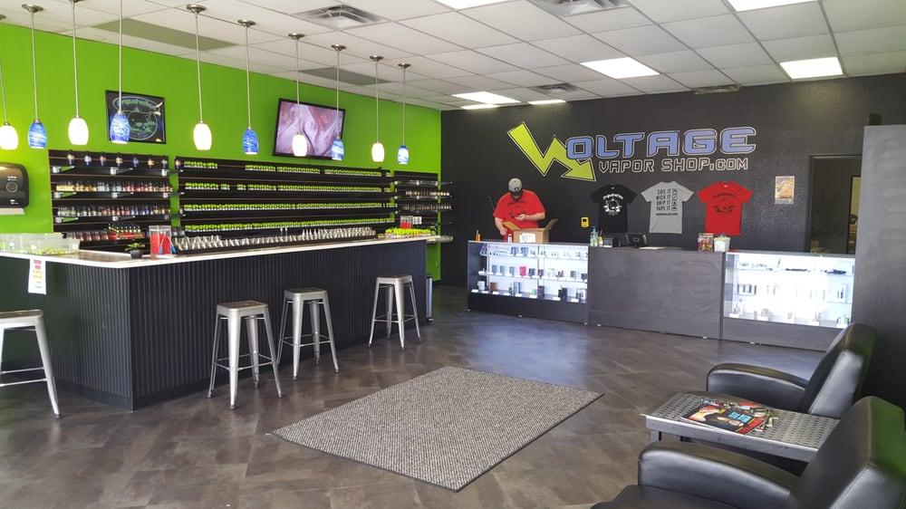 Voltage Vapor Shop: 1111 E Tyler St, Athens, TX