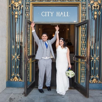 Photo Of City Hall Wedding Photographer San Francisco Ca United States