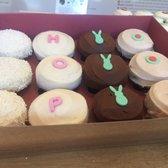 easter sprinkles cupcakes