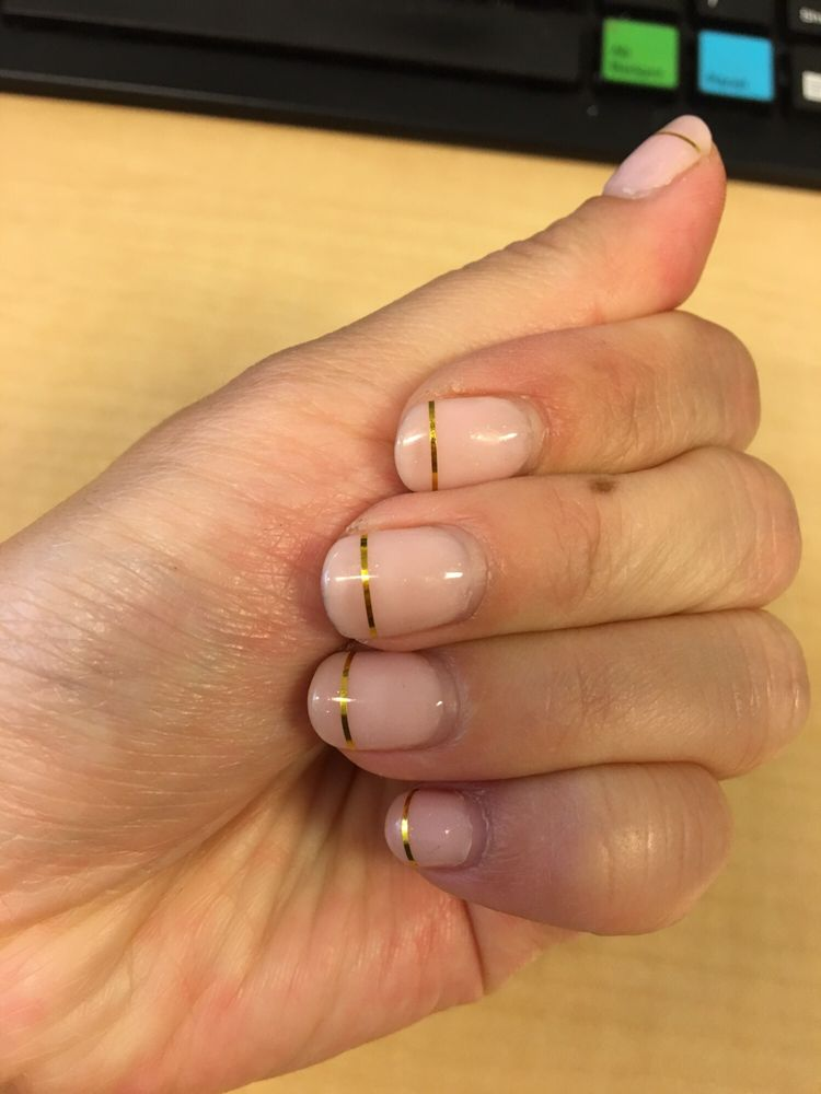 Wedding nails with Japanese gel. Nail art an additional $10. - Yelp
