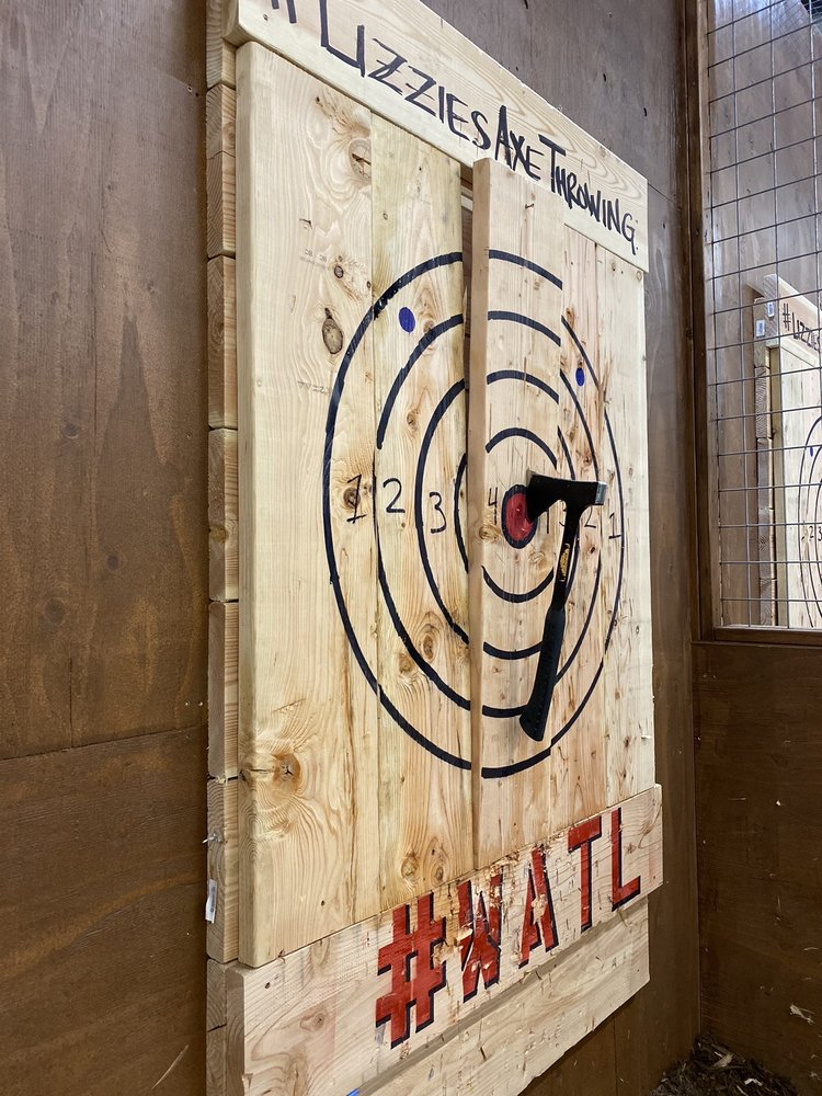 Lizzie's Axe Throwing: 345 S Main St, Brighton, CO