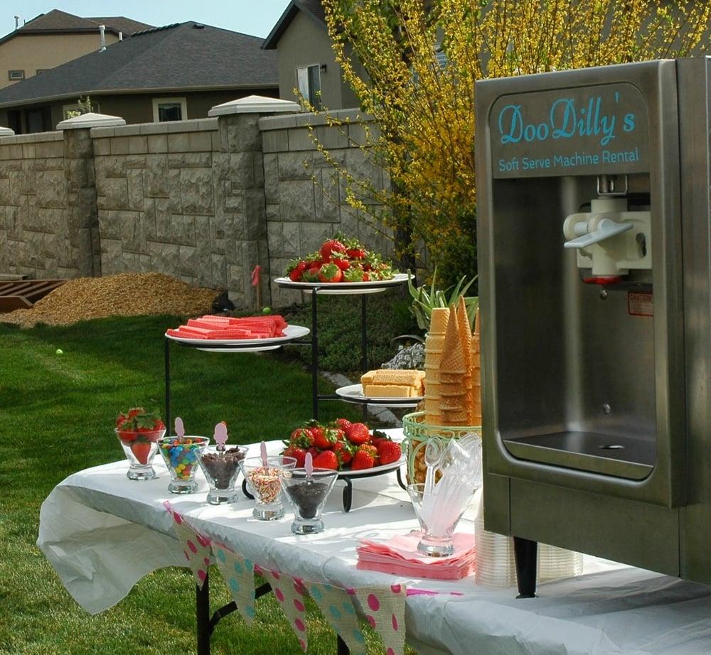 DooDilly's Soft Serve Ice Cream Machine Rental: 2066 W 885th S, Orem, UT