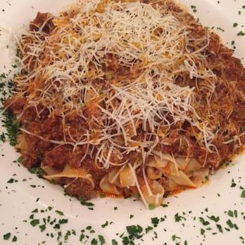 Photo Of Magna Restaurant Flushing Ny United States Fettuccini Bolognese Pasta