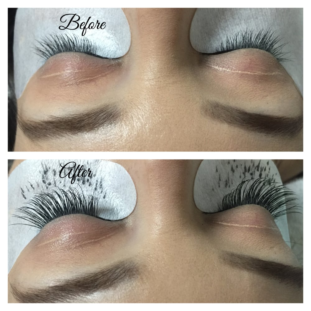 Bella Eyelash Extensions With Faux Mink Comes In Two Sizes Volume Or Classic Size. - Yelp