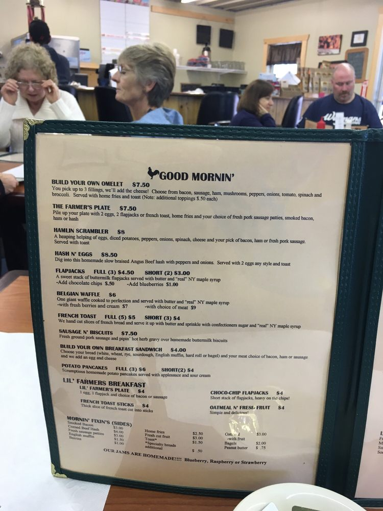 Breakfast Is A Big Deal Yelp - Farmers table menu
