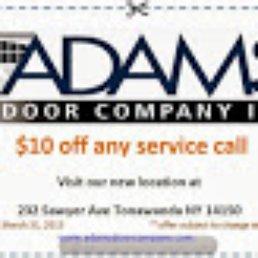 Photo of Adams Door Company - Tonawanda NY United States  sc 1 st  Yelp & Adams Door Company - 22 Photos - Garage Door Services - 232 Sawyer ... pezcame.com