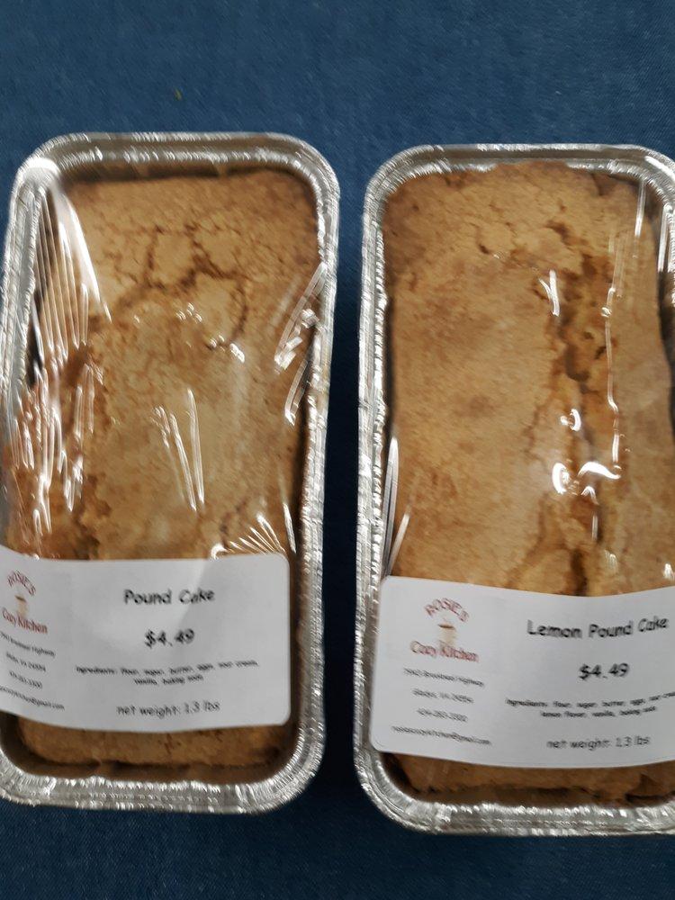 Rosies Cozy Kitchen: 7943 Brookneal Hwy, Gladys, VA