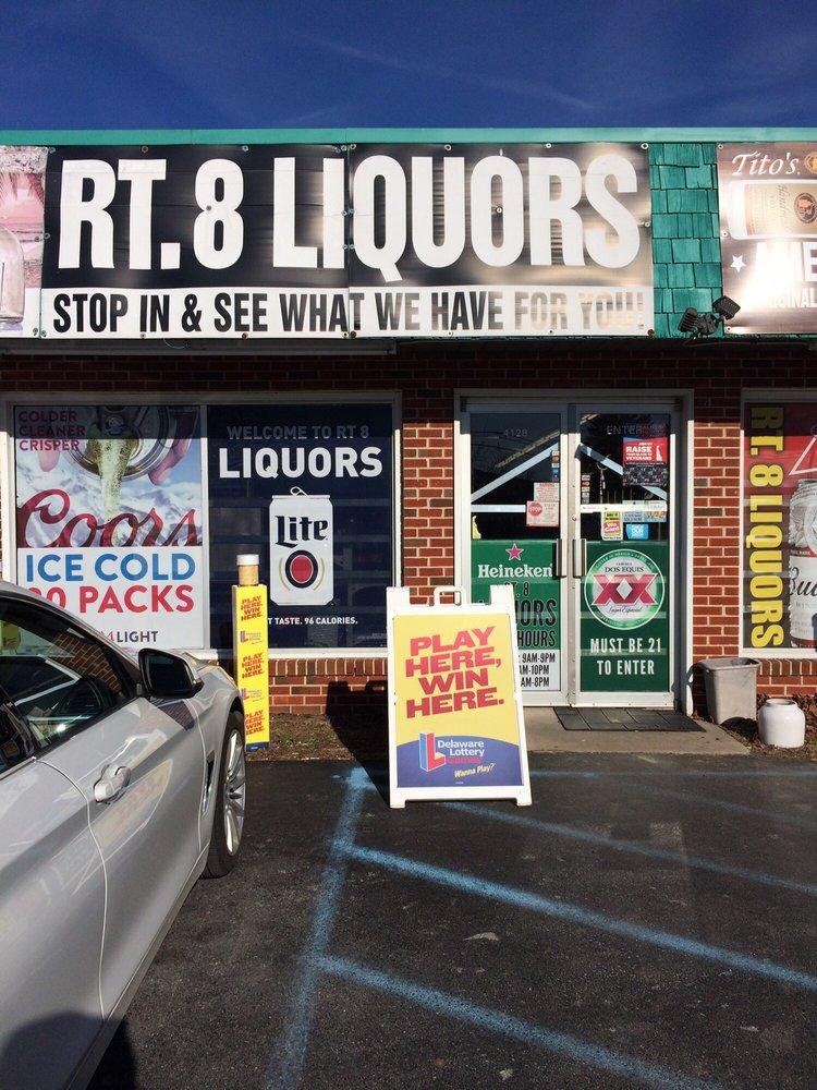 Route 8 liquors: 4128 Forrest Ave, Dover, DE