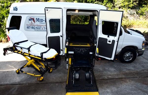 mid florida patient transport medical transportation 101 forest park ct wekiva springs. Black Bedroom Furniture Sets. Home Design Ideas