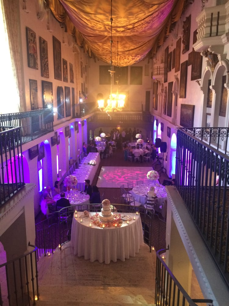 Beautiful Wedding Reception At The Spanish Art Gallery Yelp