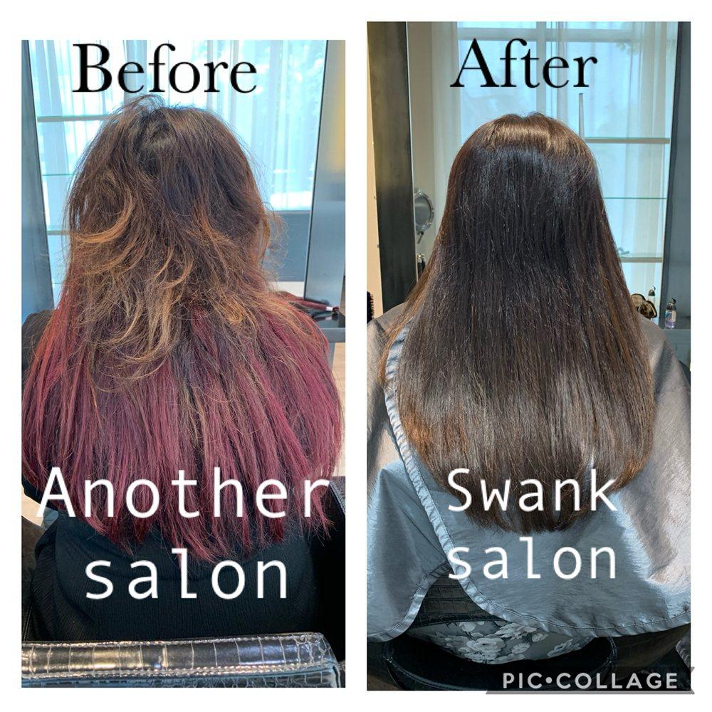 Swank Salon: 10011 NE 4th St, Bellevue, WA