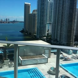 Photo Of Kimpton Epic Hotel Miami Fl United States View To The