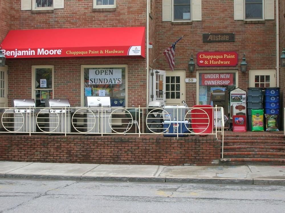 Chappaqua Paint and Hardware: 59 S Greeley Ave, Chappaqua, NY