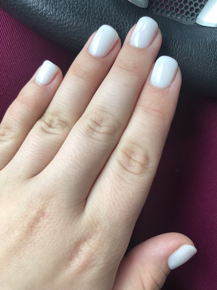 OPI funny bunny. The man who did my nails was nice enough to do 3 ...