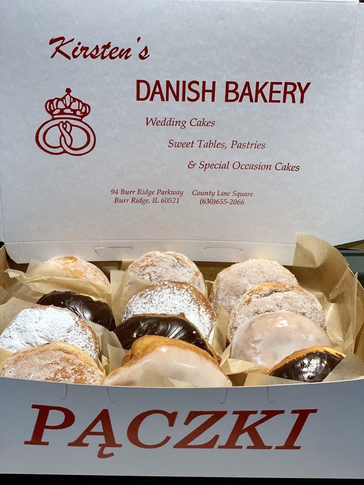 Kirsten's Danish Bakery: 94 Burr Ridge Pkwy, Burr Ridge, IL