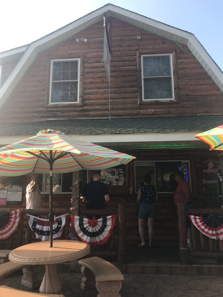 TJ's Ice Cream Cabin: 4119 Huron St, North Branch, MI