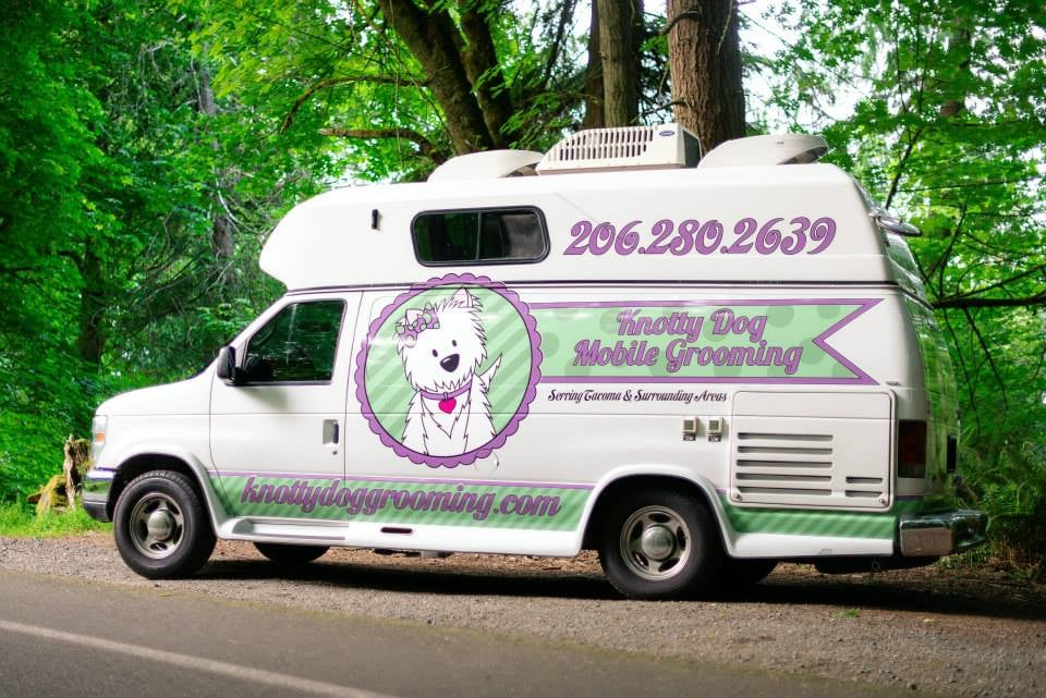 knotty dog mobile grooming   14 photos   pet groomers