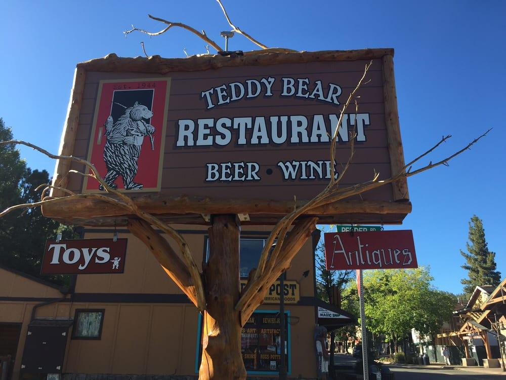 Teddy Bear Restaurant Big Bear Ca