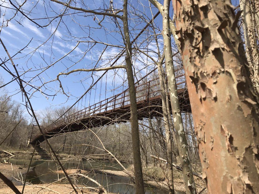 Swinging Bridges of Brumley County: Hwy 42, Osage Beach, MO
