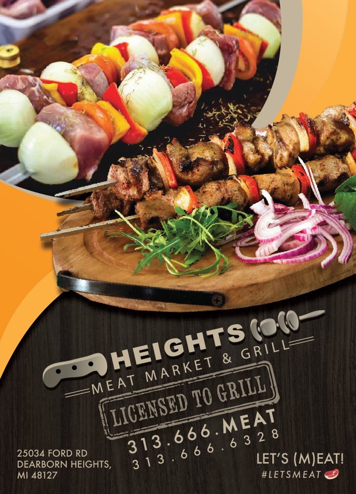 The Heights Meat Market & Grill: 25034 Ford Rd, Dearborn Heights, MI