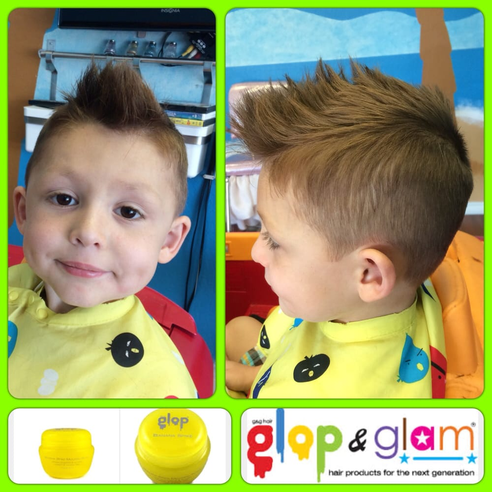 Undercut Style Haircut And Glop And Glam Banana Hair Product Used To