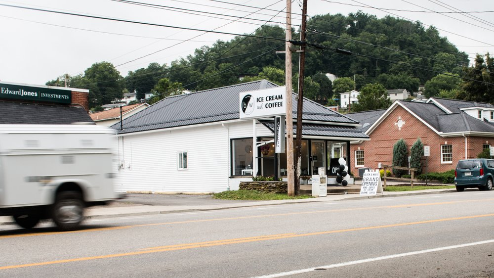 Black And White Coffee And Ice Cream: 1512 Buckhannon Pike, Nutter Fort, WV