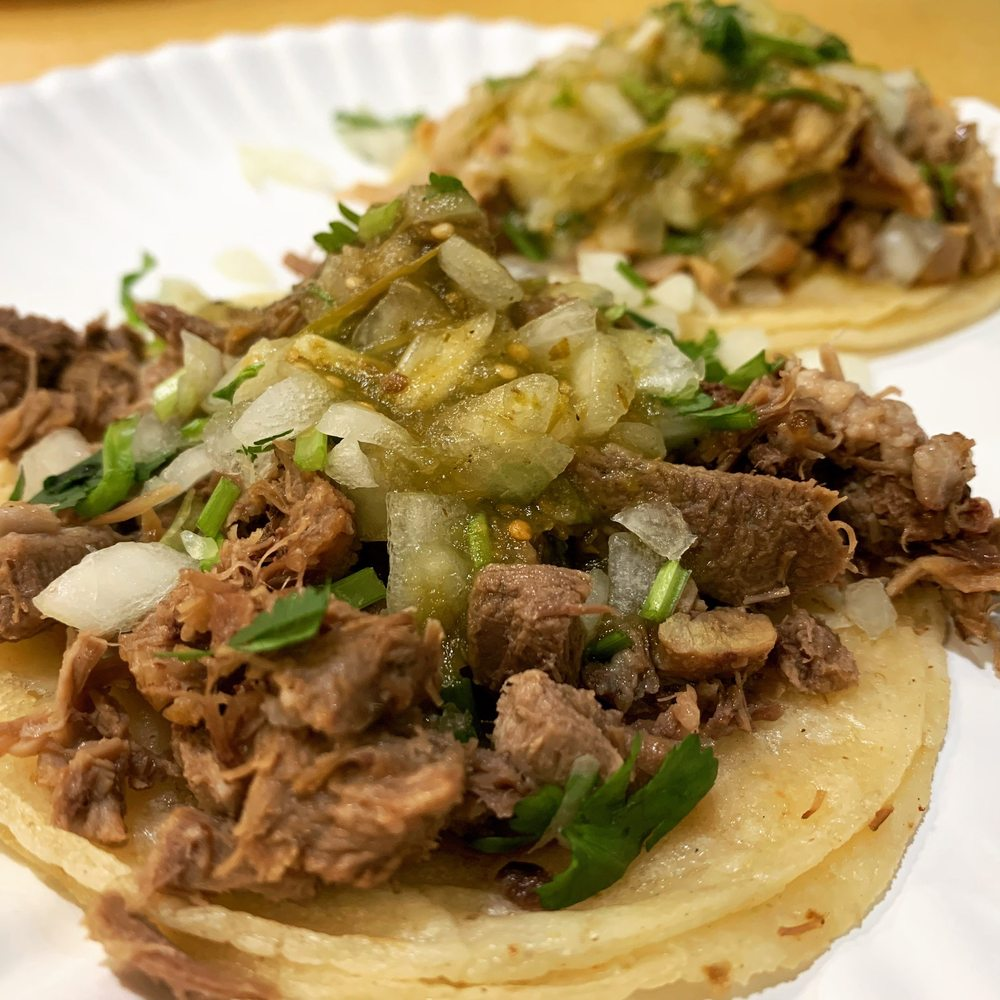 Food from Taqueria HOY!