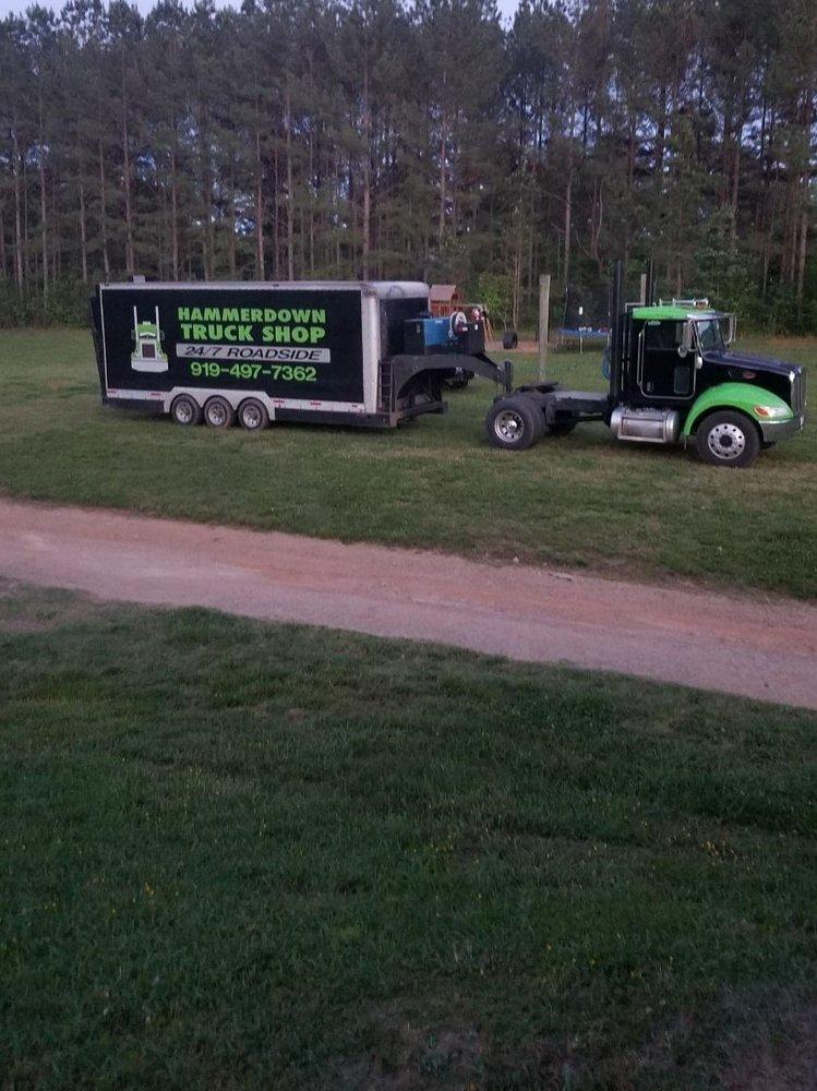 Hammerdown Truck Shop: 2541 Laurel Mill Rd, Louisburg, NC