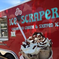 shaved ice scrapper