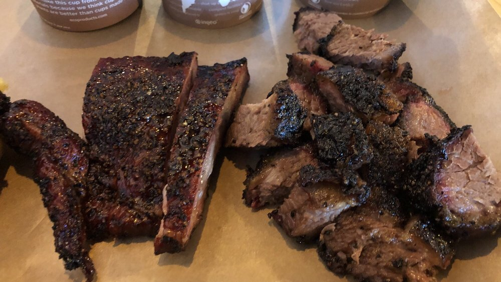 Food from City Butcher and Barbecue