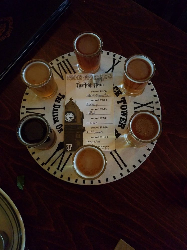 Clock Tower Ales: 311 Union St, The Dalles, OR