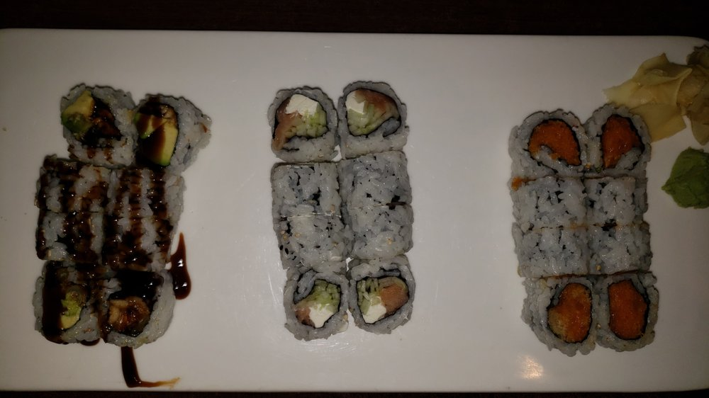 Food from Mirakuya Japanese Restaurant