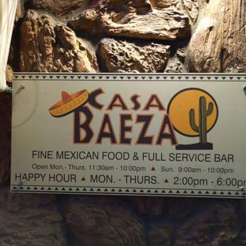 Photo Of Casa Baeza Mexican Restaurant Truckee Ca United States