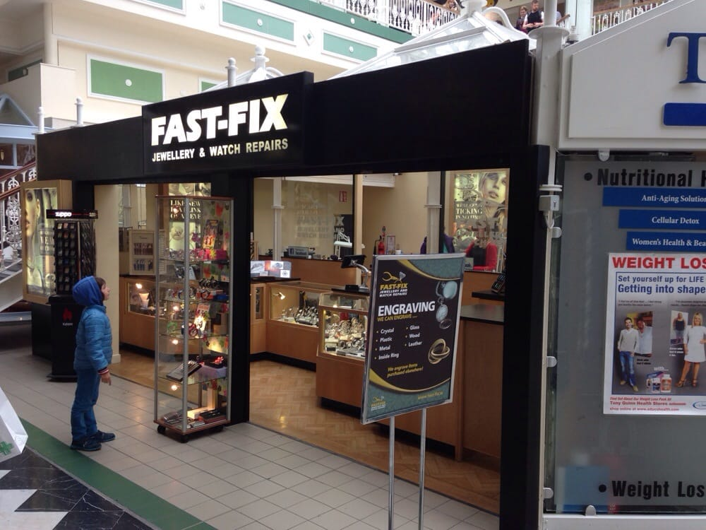 Fast fix jewelry and watch repairs st stephens for Fast fix jewelry repair