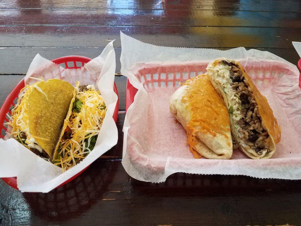 Food from Señor Taco