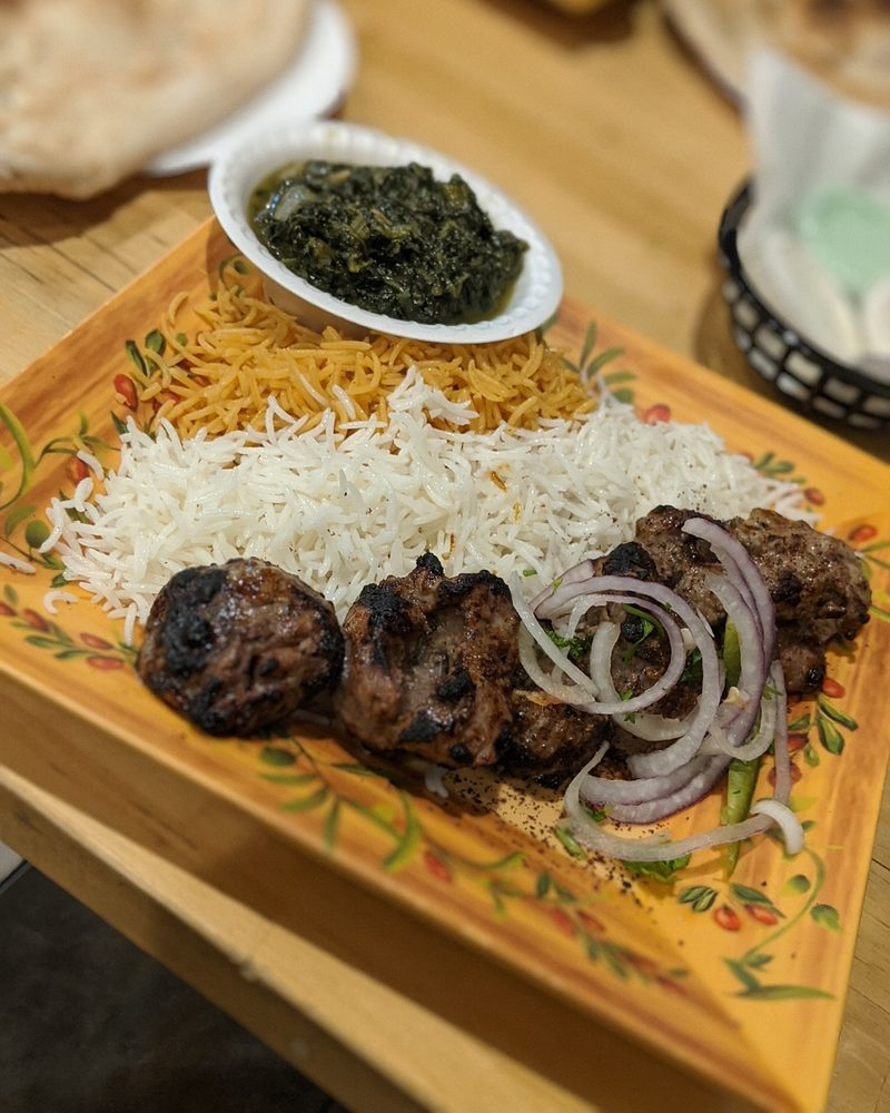 Food from Arlington Kabob