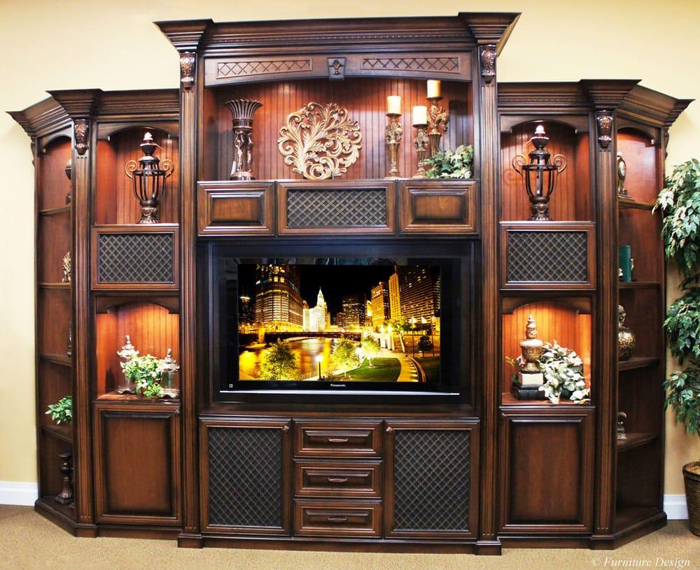 Custom Built 5 Piece Entertainment Center Yelp