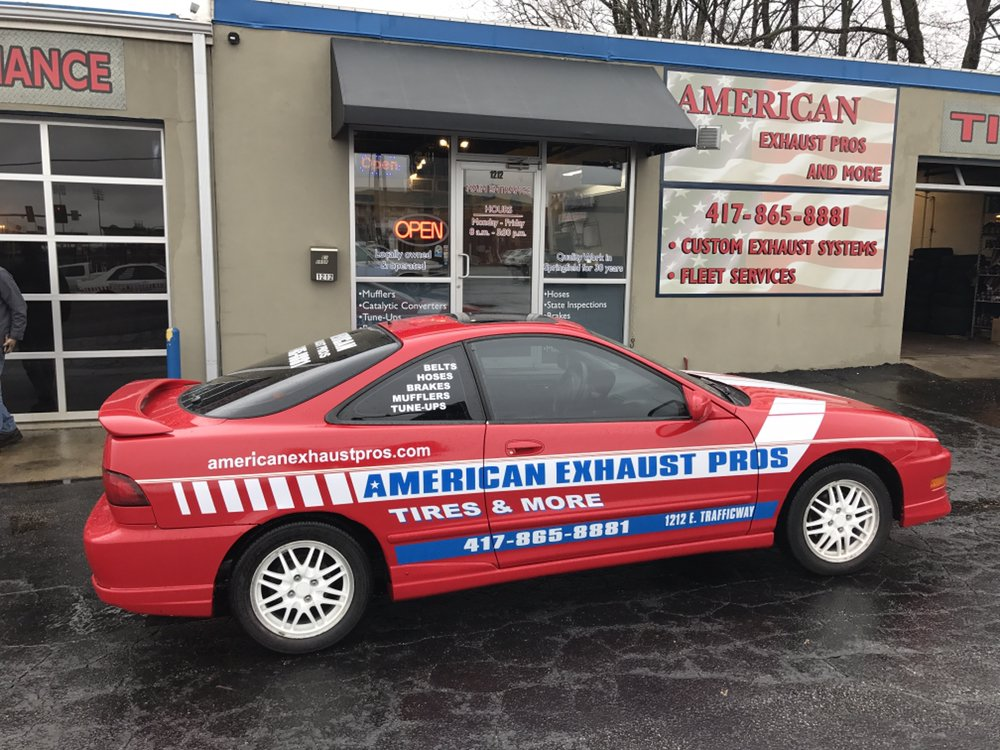 American Exhaust Pros & More: 1212 E Trafficway St, Springfield, MO