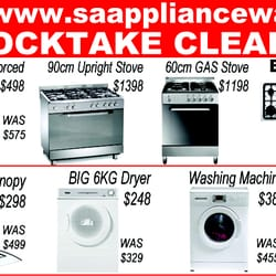 SA Appliance Warehouse - Appliances - 82 OG Rd, Klemzig South ...
